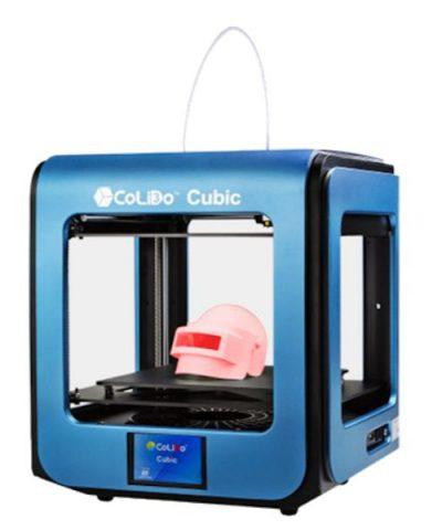 IMPRESORA 3D COLIDO CUBIC AZUL VOLUMEN CONSTRUCCION: 200x200x195 mm
