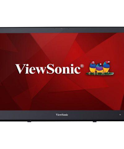 ViewSonic Monitor Tactil LED 24″ Full HD – Hasta 10 Puntos de Contacto – Respuesta 25ms – Altavoces 5W – Angulo de Visión 178º – USB, HDMI, DP y VGA – VESA 100×100 mm